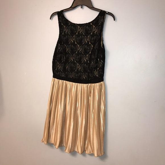 Rewind Dresses A Gold And Black Homecoming Dress Poshmark